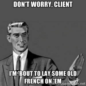 dont worry_old french